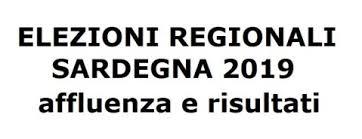 Elezioni Regionali 24 febbraio 2019 - RISULTATI ELETTORALI